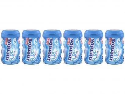 Goma de Mascar Mentos Pure Fresh Mint sem Açúcar - 92g Display 6 Unidades
