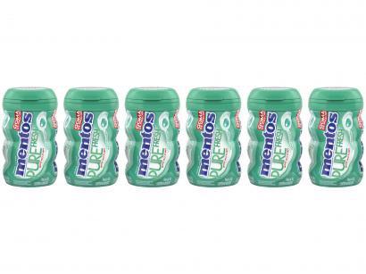 Goma de Mascar Mentos Pure Fresh Wintergreen - sem Açúcar 552g Display 6 Unidades
