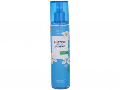 Body Mist Benetton Others Amazing Blue Jasmine - Floral Fresco Aquoso 236ml