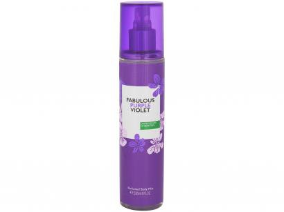 Body Mist Benetton Others Fabulous Purple Violet - Oriental Gourmand 236ml
