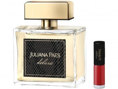 Kit Perfume Juliana Paes Deluxe Feminino - Deo Parfum 100ml com Esmalte e Necessaire