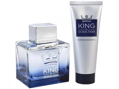 Kit Perfume Antonio Banderas King of Seduction - Masculino Eau de Toilette 100ml e Pós-Barba 75ml