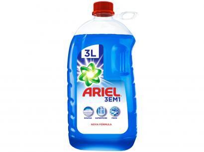 Detergente Líquido Multiuso Ariel 3 em 1 - 3L
