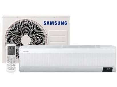 Ar-condicionado Split Inverter Samsung WindFree - Plus 12.000 BTUs Quente e Frio AR12TSEABWKNAZ