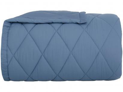 Edredom Casal Buddemeyer Percal 100% Algodão - 180 Fios Basic Percalle Azul