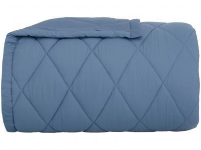 Edredom Queen Buddemeyer Percal 100% Algodão - 180 Fios Basic Percalle Azul