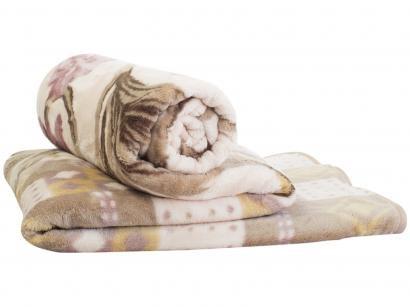 Cobertor Casal Jolitex Microfibra Kyor Plus - Montecarlo Bege