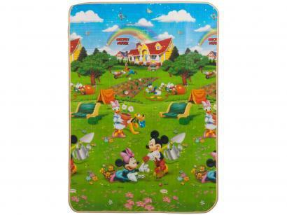 Tapete Infantil Mickey para Quarto Retangular - Recreio Disney Trip 120x180cm Jolitex