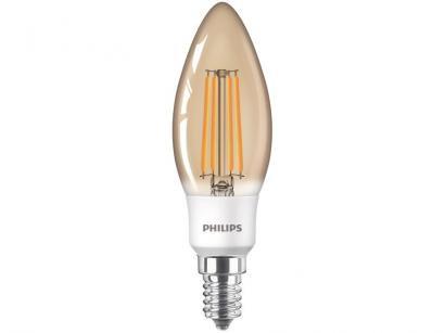 Lâmpada Filamento LED Philips 2,7W Âmbar E14 - 2500K