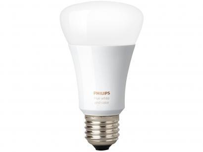 Lâmpada Smart Philips Hue E27 White e Color 9W - Iluminação Inteligente Wi-Fi e Bluetooth