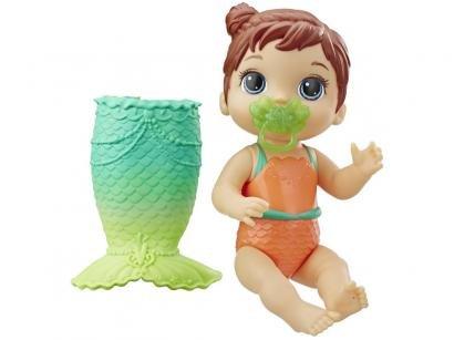 Boneca Baby Alive Linda Cauda Morena - com Acessórios Hasbro