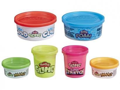 Conjunto de Slimes Mundo de Texturas Play-Doh - E8796 Hasbro