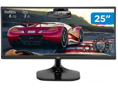 "Monitor Gamer LG 25UM58G 25"" LED IPS - Full HD HDMI 75Hz 1ms"