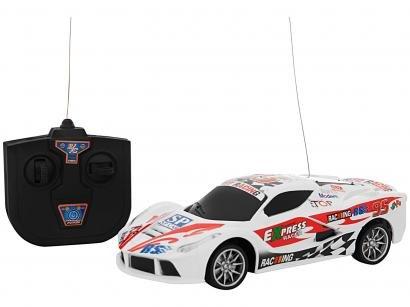 Carrinho de Controle Remoto Motor Sport 7 Funções - CKS Branco