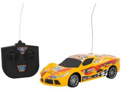 Carrinho de Controle Remoto Motor Sport 7 Funções - CKS Amarelo