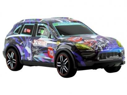 Carrinho de Controle Remoto Super Car - 7 Funções CKS Roxo