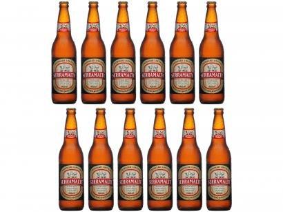 Cerveja Serramalte Puro Malte Extra Lager - 12 Unidades 600ml