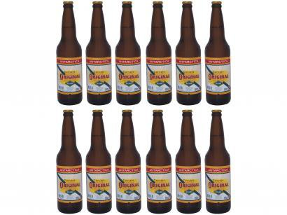Cerveja Antarctica Original Lager Pilsen - 12 Unidades 600ml
