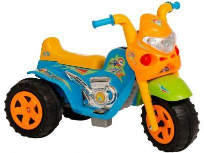 Mini Moto Elétrica Infantil GP Raptor Super Boy - 2 Marchas 6V Biemme