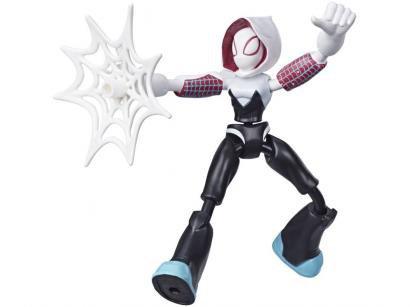 Boneco Homem-Aranha Marvel - Ghost-Spider Bend and Flex Hasbro