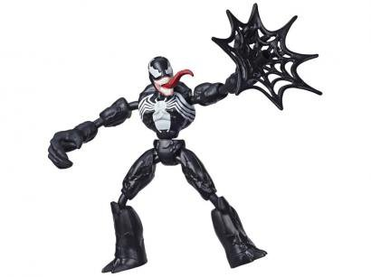 Boneco Spiderman Marvel Venom Bend and Flex - Hasbro