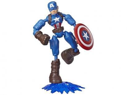Boneco Capitão América Marvel Avengers - Bend and Flex Hasbro