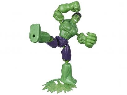Boneco Hulk Marvel Avengers Bend and Flex - Hasbro