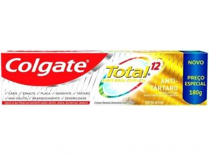 Creme Dental Colgate Total 12 - Anti-tártaro 180g