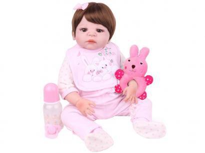 Boneca Reborn Laura Baby Daniela com Acessórios - NPK Doll