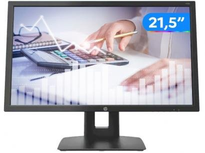 "Monitor para PC HP V22B 21,5"" LED IPS Widescreen - Full HD HDMI VGA Pivot..."