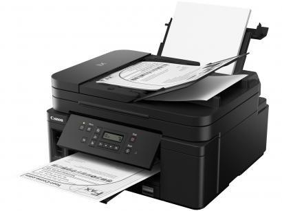 Impressora Multifuncional Canon Jato de Tinta - Monocromática Wi-Fi USB