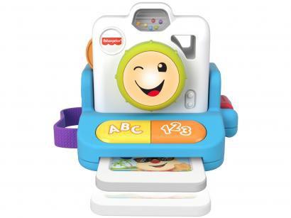 Brinquedo Educativo Fotografia Câmera Sorrisos e - Aprendizagem Emite Som Fisher-Price