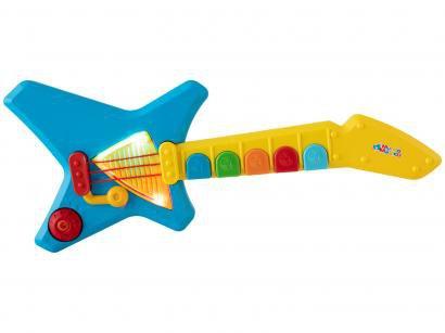 Guitarra de Brinquedo Mundo Mágico Maluca - Xplast