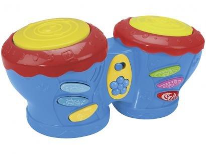 Tambor de Brinquedo Mundo Mágico Tim Tom - Xplast