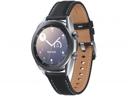 Smartwatch Samsung Galaxy Watch 3 LTE Prata - 41mm 8GB