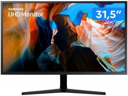 "Monitor para PC Samsung LU32J590UQLXZD 31,5"" LED - Widescreen Ultra HD HDMI"