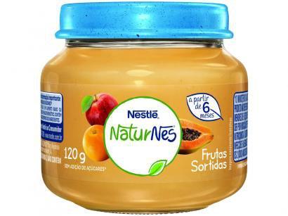 Papinha NaturNes Frutas Sortidas 120g - A Partir de 6 Meses