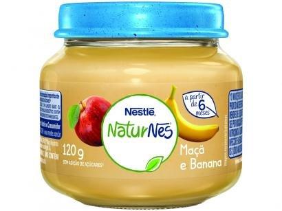 Papinha NaturNes Maçã e Banana 120g - A Partir de 6 Meses