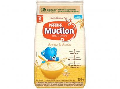 Cereal Matinal Infantil Arroz e Aveia Mucilon - 230g