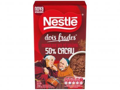 Chocolate em Pó 50% Cacau Nestlé Dois Frades - 200g