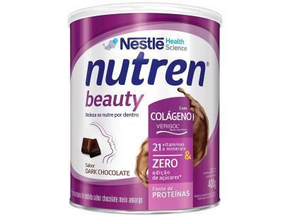 Complemento Alimentar Adulto Nutren Dark Chocolate - Beauty 400g