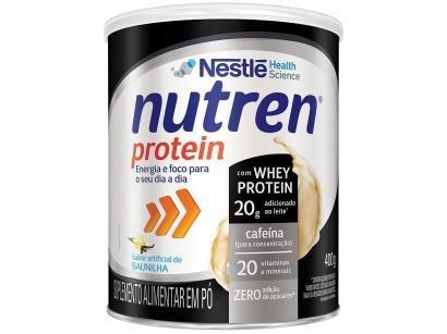 Suplemento Alimentar Adulto Nutren Baunilha - Protein Zero 400g