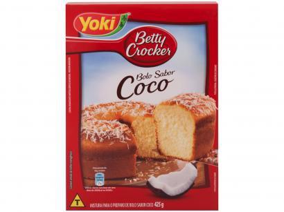 Mistura para Bolo Betty Crocker Coco Tradicional - 425g