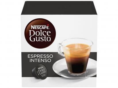 Cápsula de Café Espresso Nescafé Expresso Arábica - Robusta Espresso Intenso Dolce Gusto 16 Cápsulas