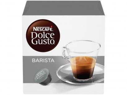 Cápsula de Café Espresso Nescafé Expresso Arábica - Robusta Barista Dolce Gusto 16 Cápsulas
