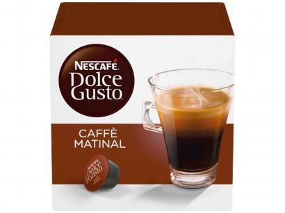 Cápsula de Café Nescafé Arábica e Robusta - Caffè Matinal Dolce Gusto 16 Cápsulas