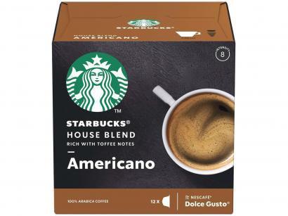Cápsula de Café Nescafé Arábica House Blend - Americano Dolce Gusto Starbucks 12 Cápsulas