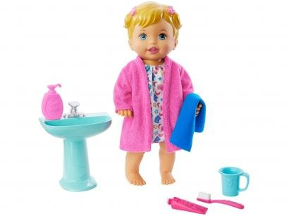 Boneca Little Mommy Hora de Dormir - com Acessórios Mattel