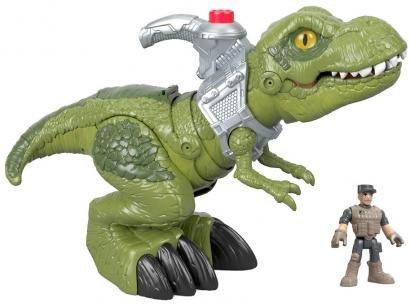 Imaginext T-Rex Mega Mordida 33,02cm - com Acessórios Fisher-Price