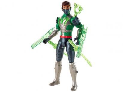 Boneco Max Steel Ataque Multi Espadas - com Acessórios Mattel
